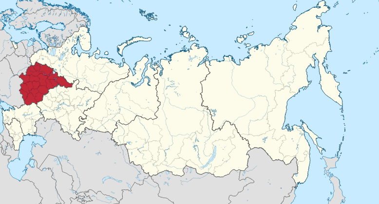 Districtul Federal Central, Rusia