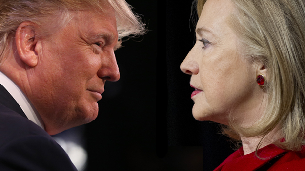 Donald Trump și Hillary Clinton, doi admiratori ai cancelarului german, Angela Merkel.